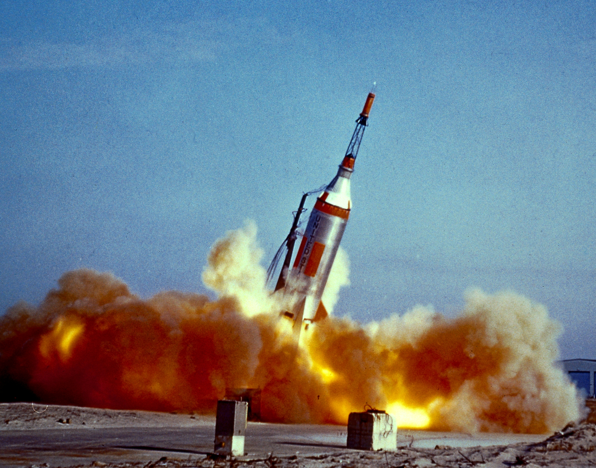 Rocket EXPLODES on LAUNCH Pad - 1950's American Space Program Failure! - Science Vibe