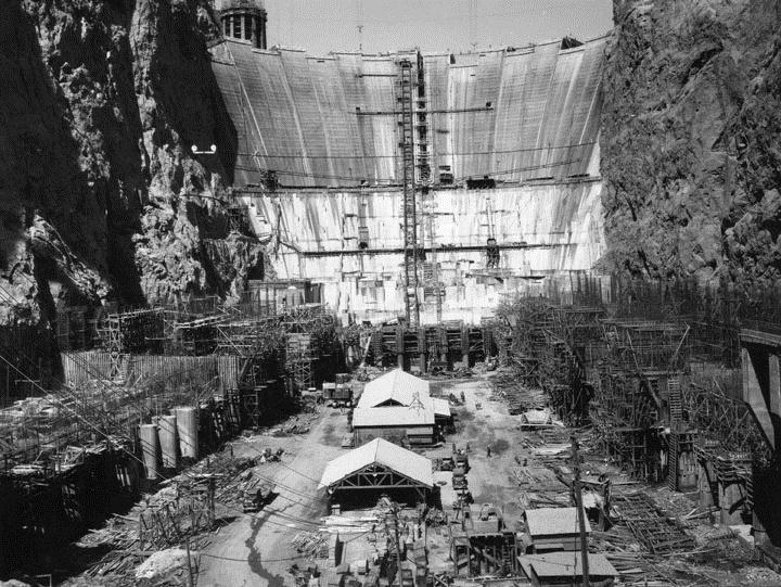 Building Hoover Dam New Deal