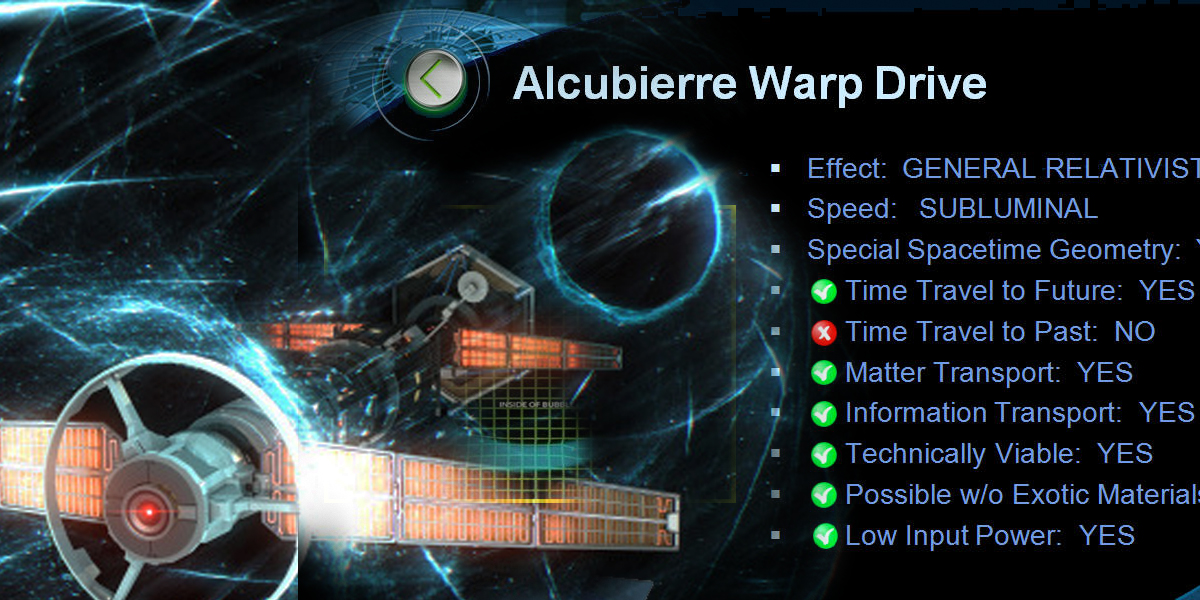 alcubierre drive nasa 2017 - photo #25