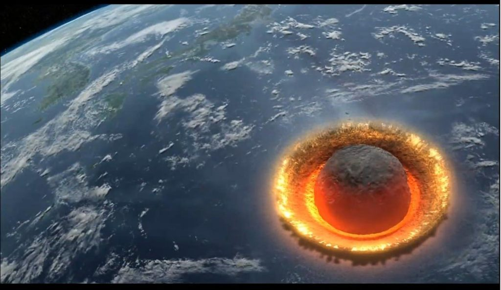 What would Happen if a Large Asteroid HIT the Ocean? Watch ...