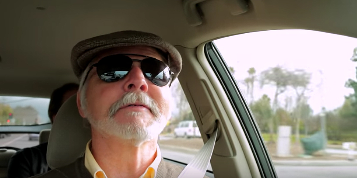 Wow Legally Blind Man Drives Google Self Driving Car