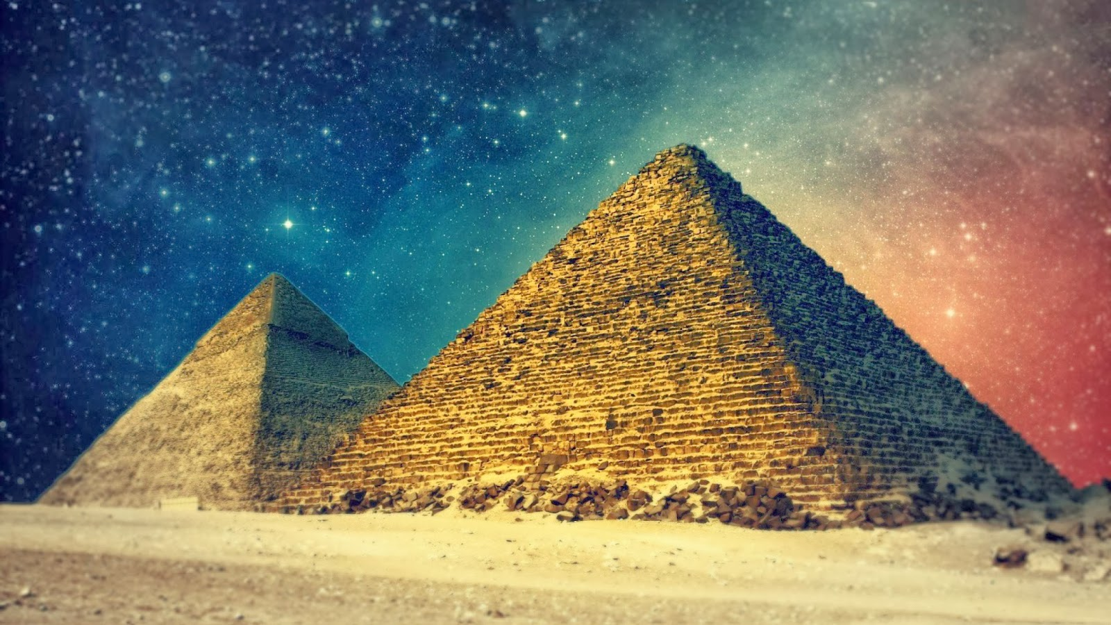 Are the Gods Crazy or Just Mankind? Why Do All Pyramids Align To