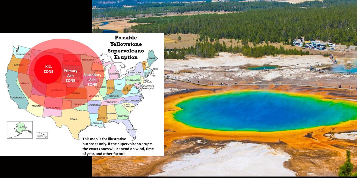 fear mega quake will set off yellowstone s super volcano