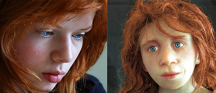 Red Hair...and Light Skin A Genetic Mutation From Neanderthals